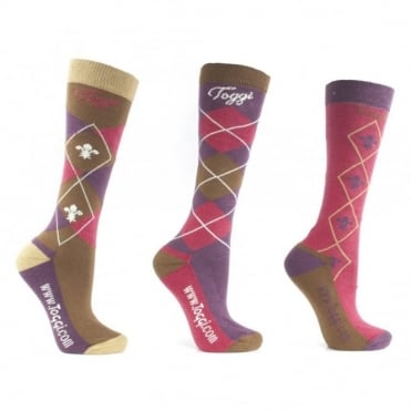 Toggi Chestermere Socks (3 Pack)