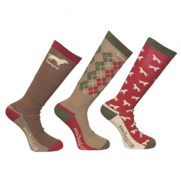 Toggi Hambleton Mens Socks (3 Pack)