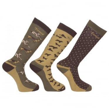 Toggi Marcus Mens Socks (3 Pack)