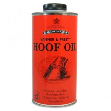 Vanner and Prest Hoof Oil 500ml